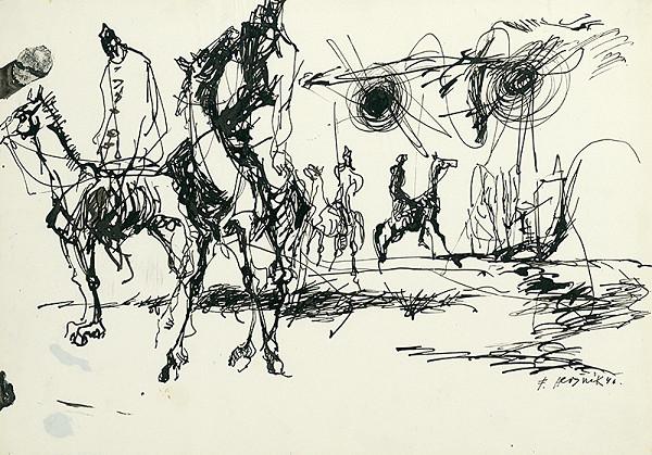 Ferdinand Hložník – Jazdci
