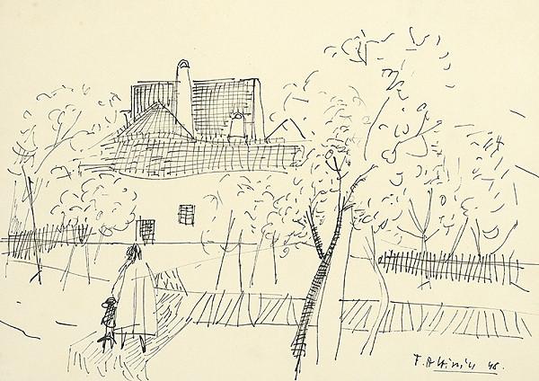 Ferdinand Hložník - Dom v záhrade