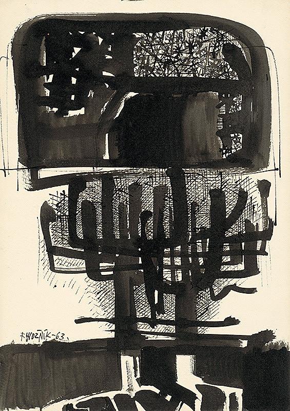 Ferdinand Hložník - Kresba XIX.