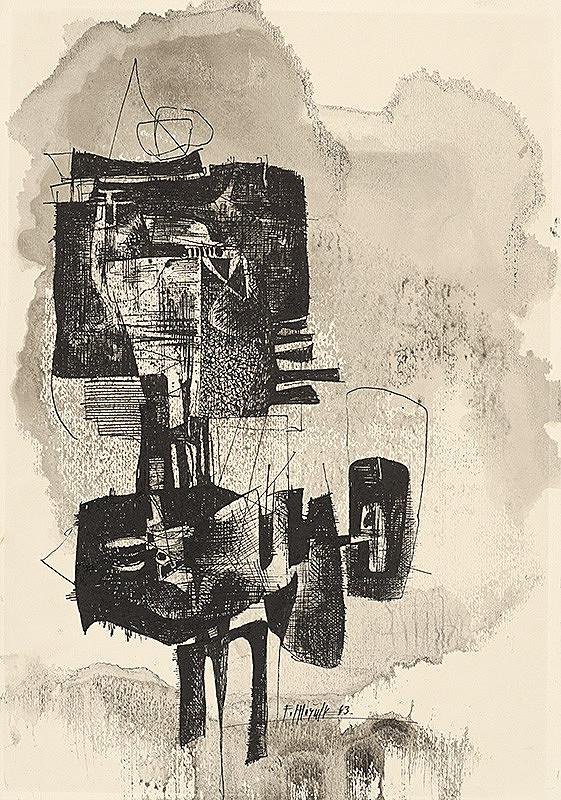 Ferdinand Hložník - Kresba XX.