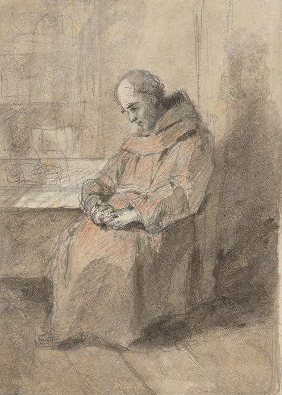 Jan Novopacký - Mních