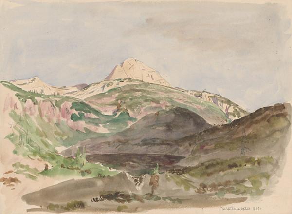Jan Novopacký – Pohľad na Wildesee