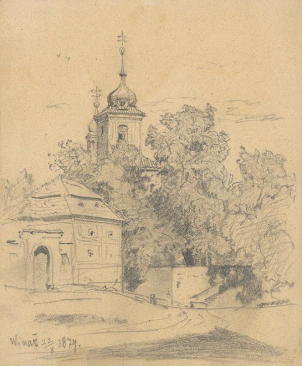 Jan Novopacký - Drevená veža