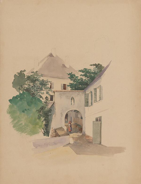 Jan Novopacký - Domy so starou bránou