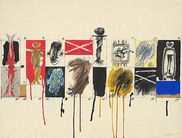 Jozef Jankovič - Kresba 1967