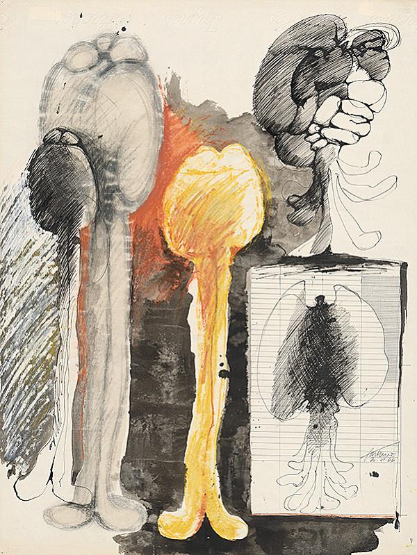 Jozef Jankovič - Kresba I. - 1966