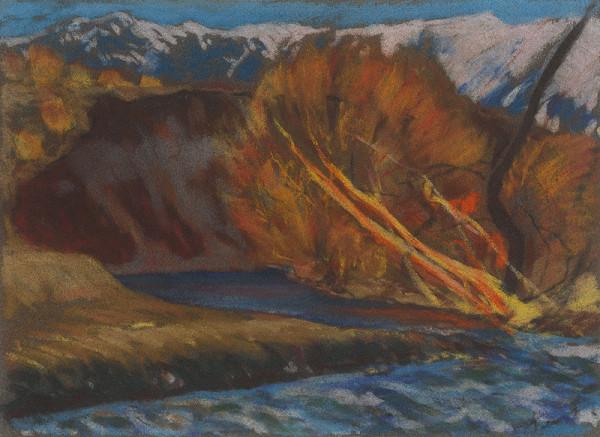 Zolo Palugyay – Jesenná nálada pri potoku v údolí