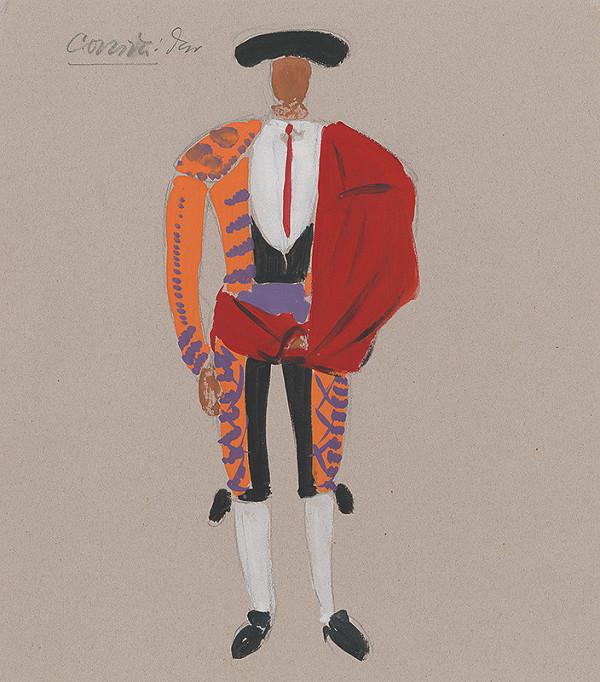 Eugen Nevan - Návrh na kostým toreádora II.