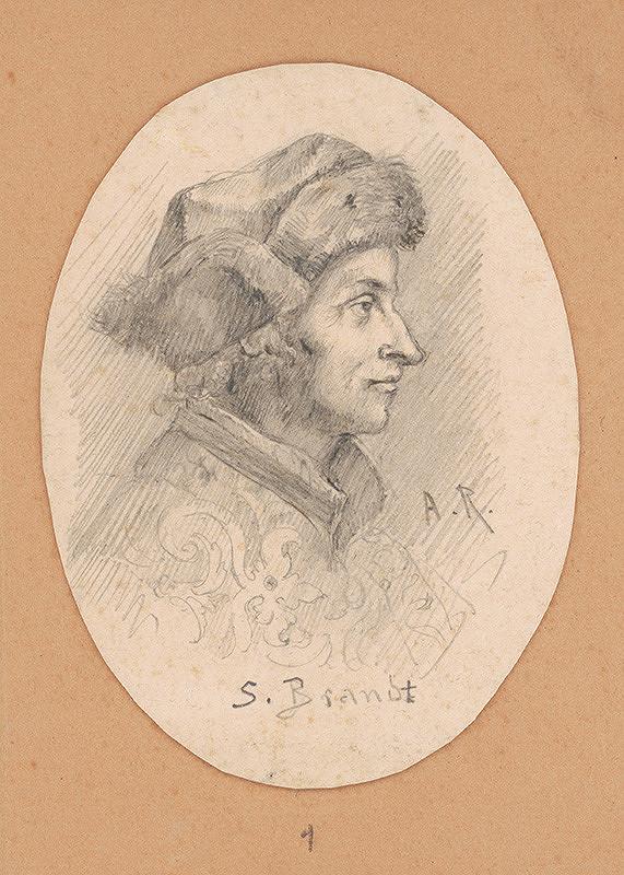 Alojz Rigele - Portrétna štúdia S. Brandta