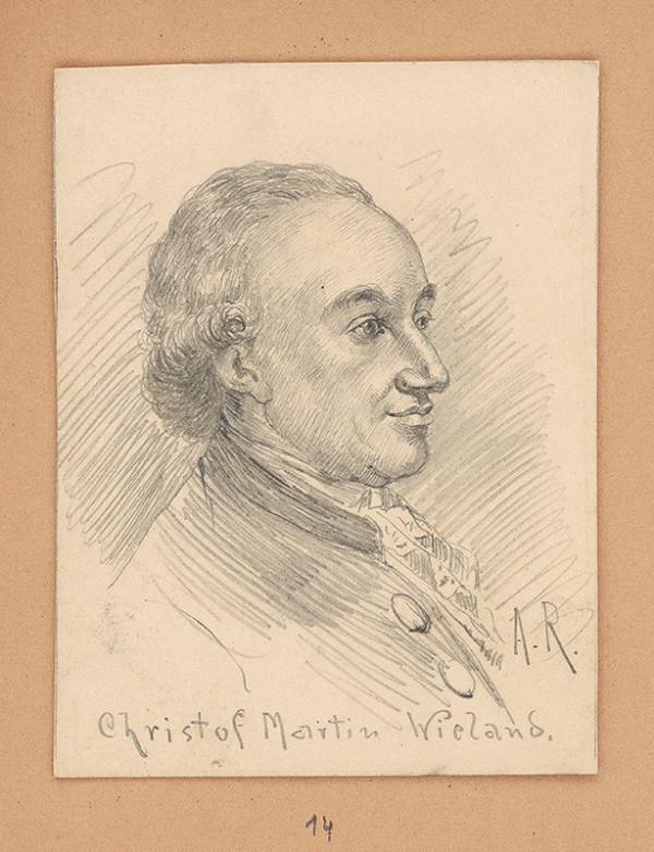 Alojz Rigele - Portrétna štúdia Christofa Martina Wielanda