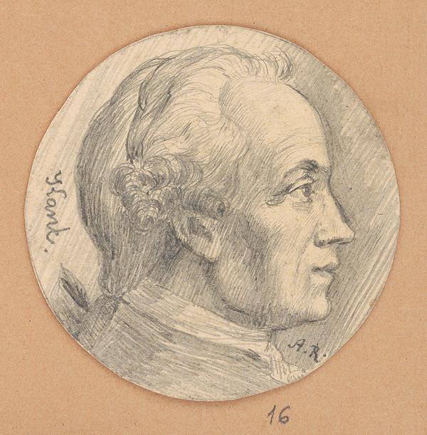 Alojz Rigele - Portrétna štúdia Kanta