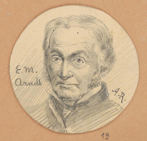Alojz Rigele - Portrétna štúdia E. M. Arndta