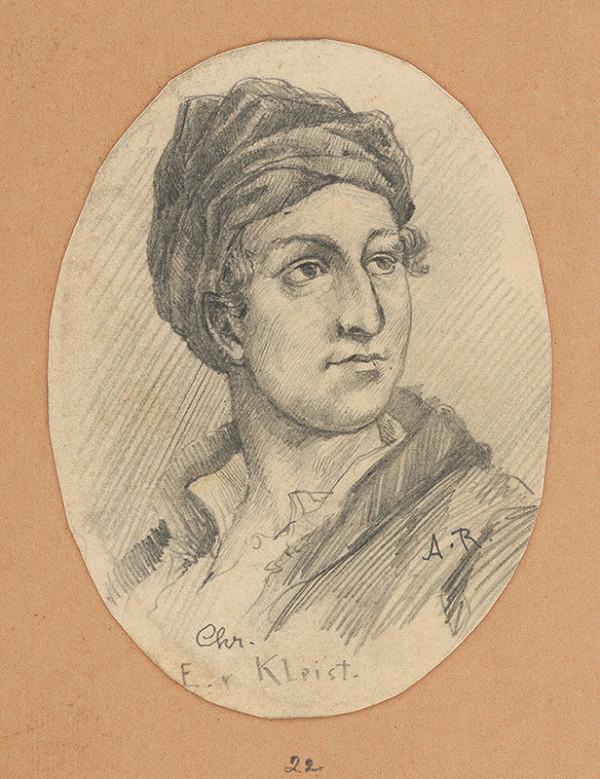 Alojz Rigele - Portrétna štúdia Chr. E. v. Kleista