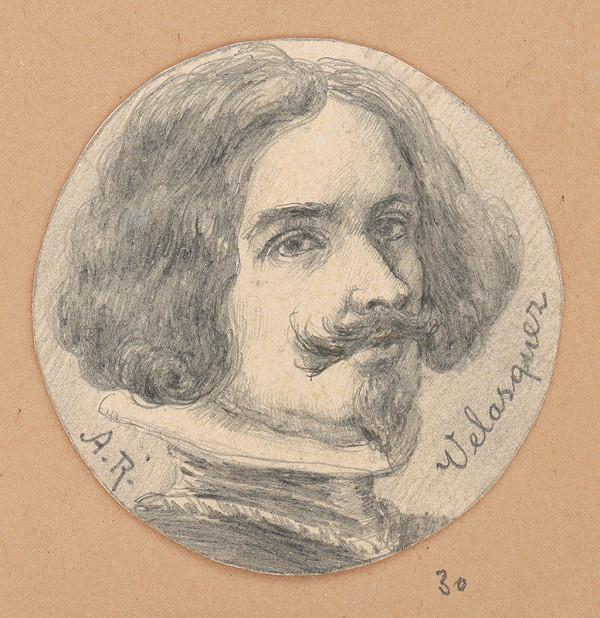 Alojz Rigele - Portrétna štúdia Velasqueza