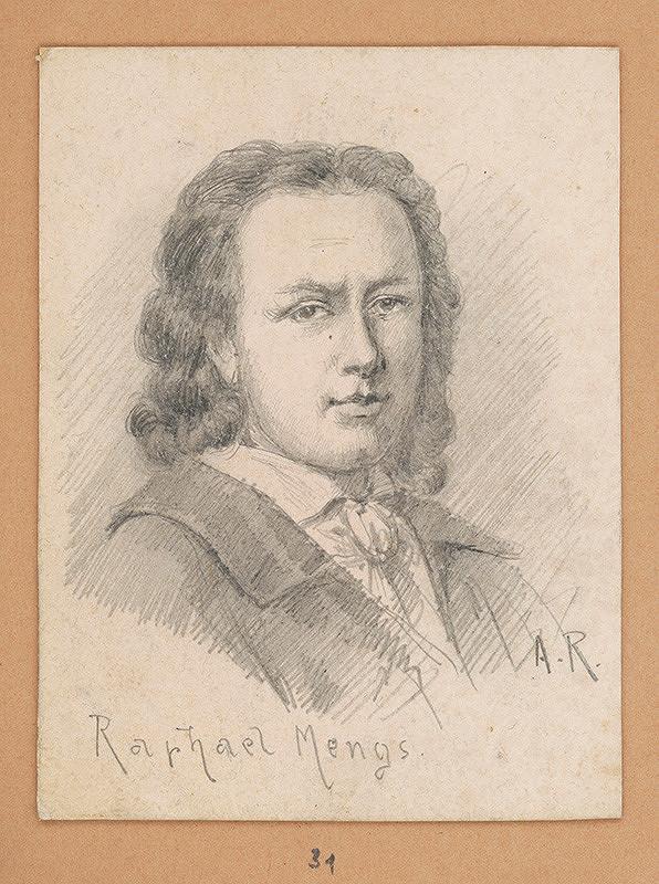 Alojz Rigele - Portrétna štúdia Raphaela Mengsa