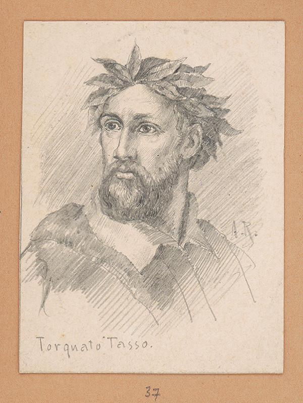 Alojz Rigele - Portrétna štúdia Torquata Tassa