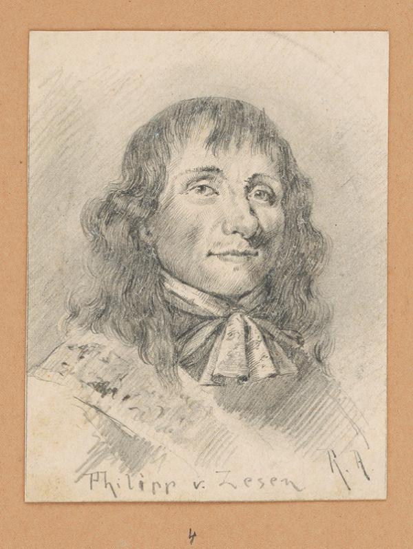 Alojz Rigele - Portrétna štúdia Philippa v. Zesen