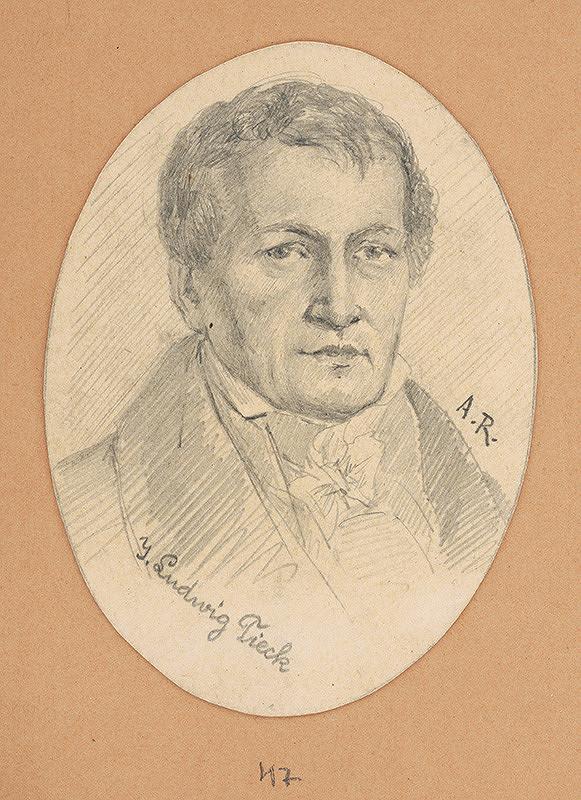 Alojz Rigele - Portrétna štúdia J. Ludwiga Tiecka