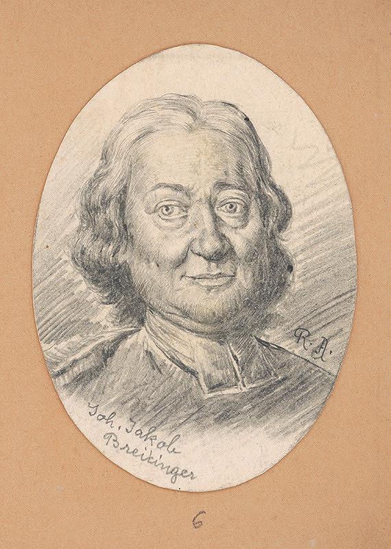 Alojz Rigele - Portrétna štúdia Joh. Jakoba Breitengera