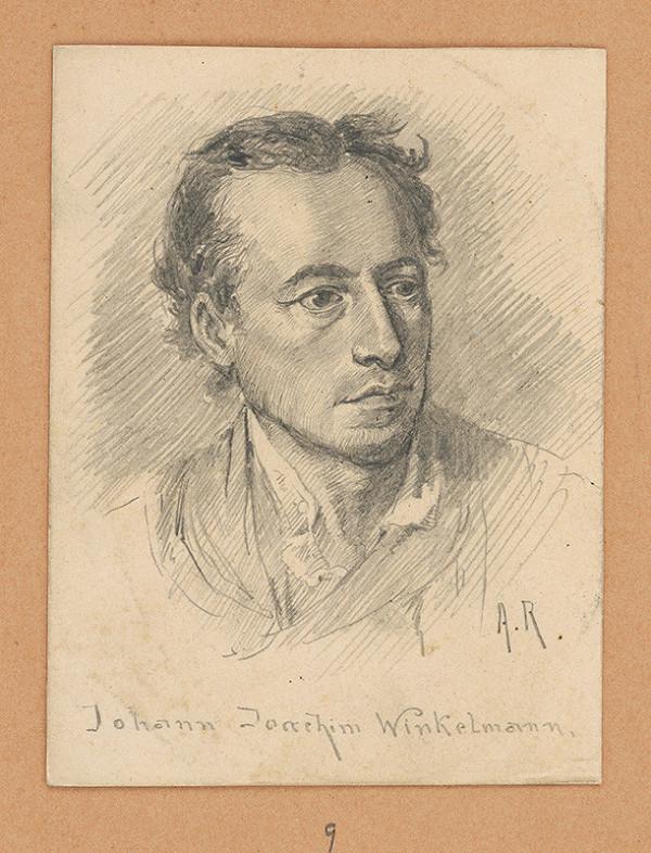 Alojz Rigele - Portrétna štúdia Johanna Joachima Winkelmanna