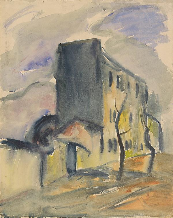 Zolo Palugyay - Osamelý modrý dom