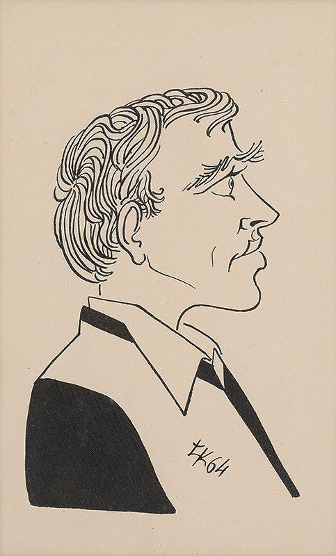 Ľubomír Kellenberger – Karikatúra