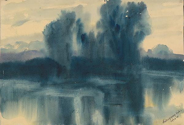 Zolo Palugyay - Modrá nálada nad jazerom