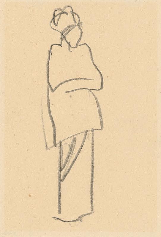 Ján Kulich - Žena so založenými rukami