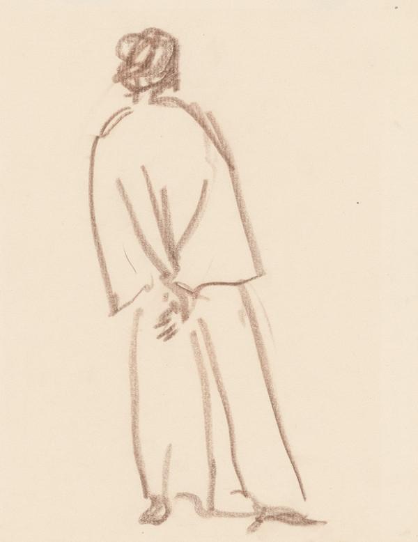 Ján Kulich – Muž s rukami založenými za chrbtom