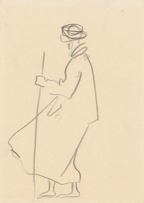 Ján Kulich - Muž s palicou
