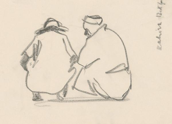 Ján Kulich - Dvaja čupiaci Arabi