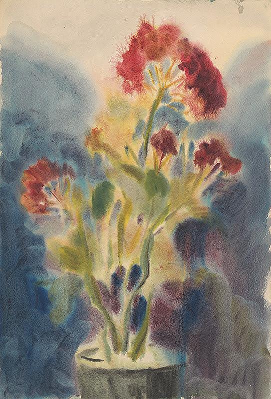 Zolo Palugyay - Červený kvet