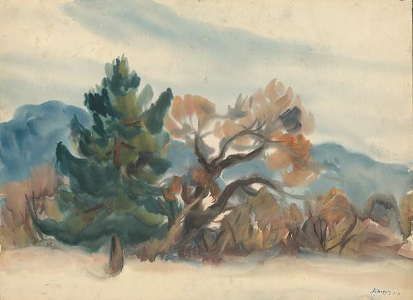 Zolo Palugyay – Kraj lesa na jeseň