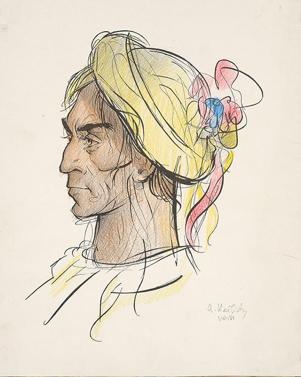 Aurel Kajlich - Sedliak v ozdobnom širáku