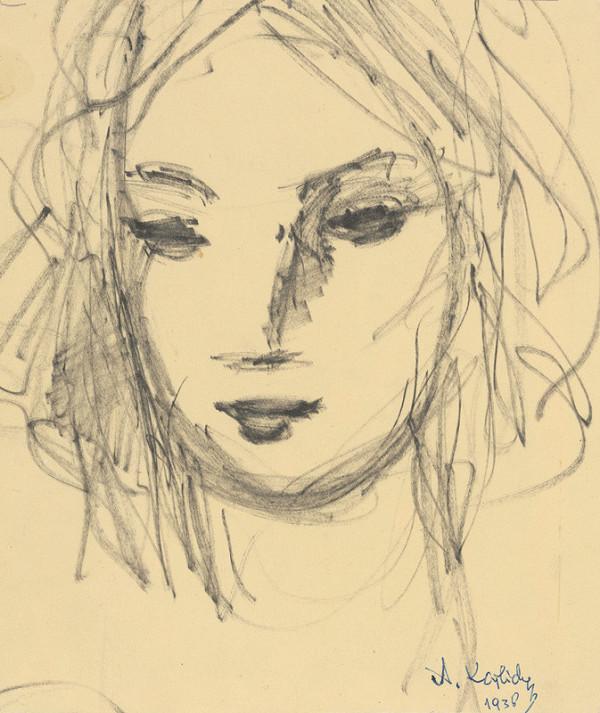 Aurel Kajlich - Dievčenská hlavička