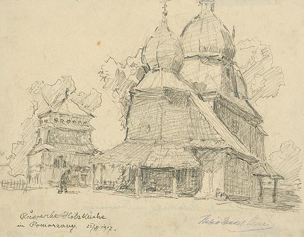 Elemír Halász-Hradil - Ruský drevený kostolík