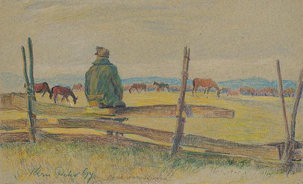 Peter Július Kern - Strážca koní