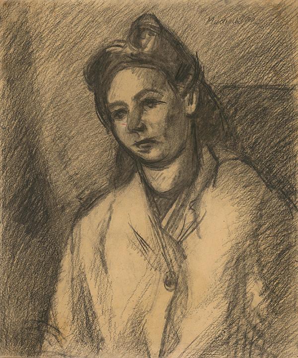Ján Mudroch - Sediaca žena