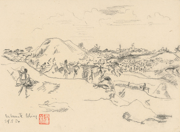 Anton Hollý - Na stavbe kanálu v Pekingu