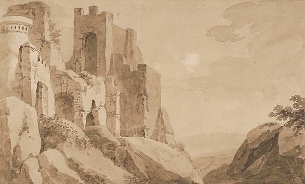 Neznámy autor - Ruiny hradu