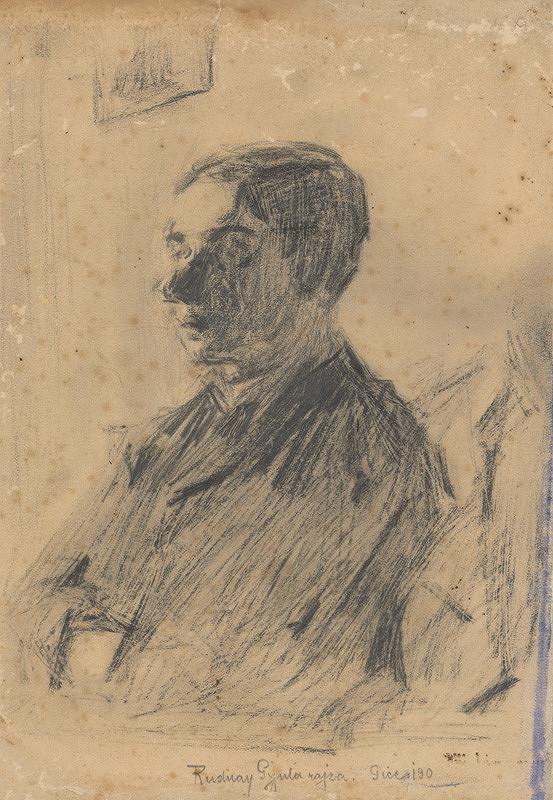 Július Rudnay – Portrét muža