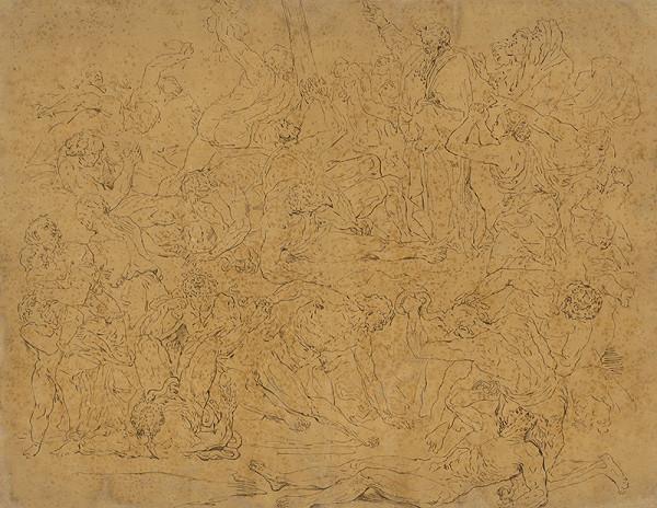 Taliansky majster zo 17. storočia - Bitka