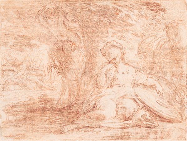 Francúzsky maliar z 18. storočia – Mytologický výjav