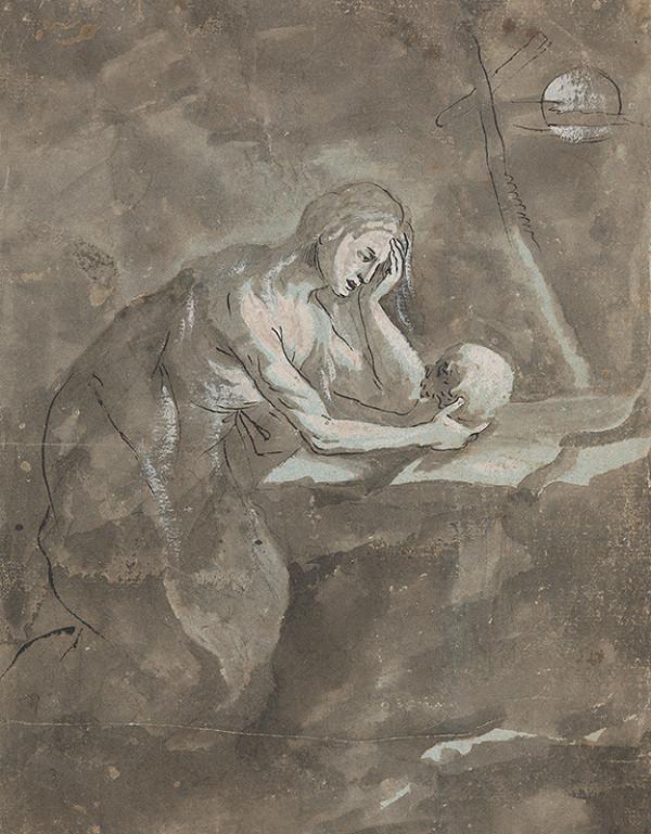 Stredoeurópsky majster z 18. storočia – Mária Magdaléna