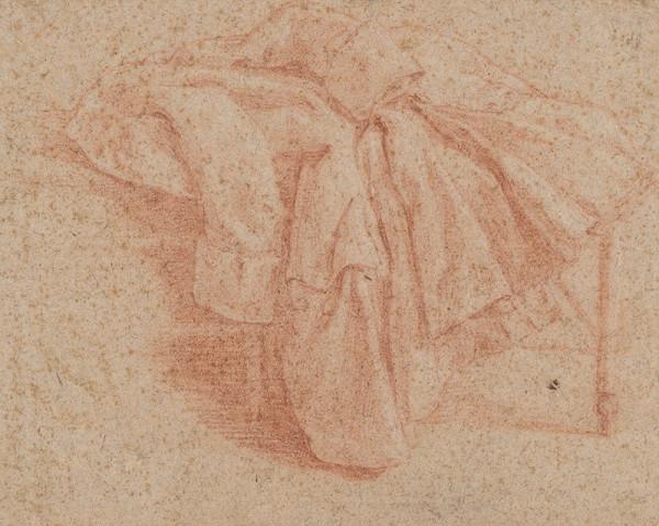 Stredoeurópsky maliar z 18. storočia - Štúdia kabáta