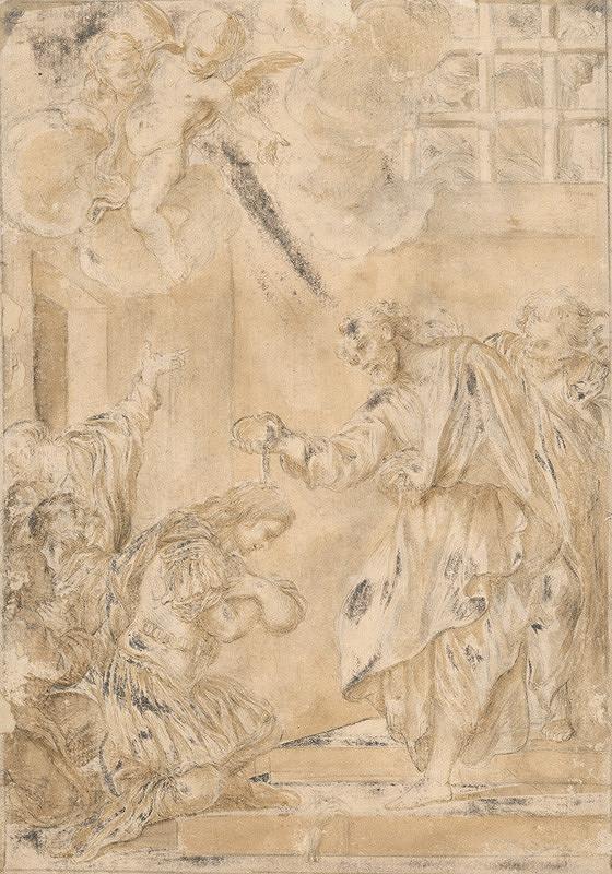 Taliansky majster zo 17. storočia – Krst