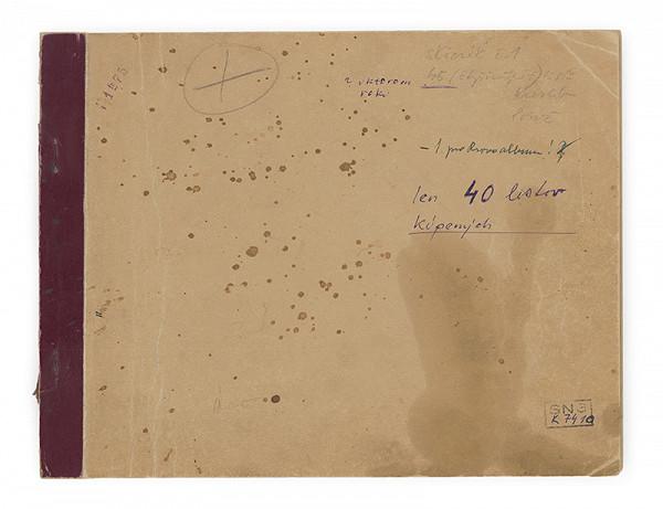 Cyprián Majerník – Skicár - 40 listov