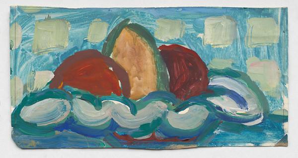 Alojz Klimo - Zátišie s ovocím