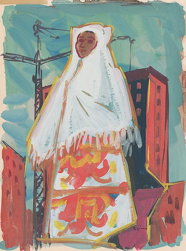 Štefan Cpin - Žena v bielom