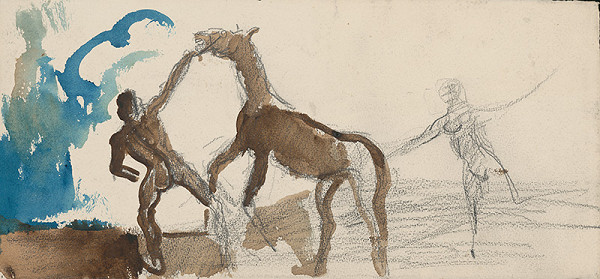 Cyprián Majerník - Krotenie koňa